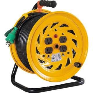 電工ドラム 標準型100Vドラム アース付 50m NFE54