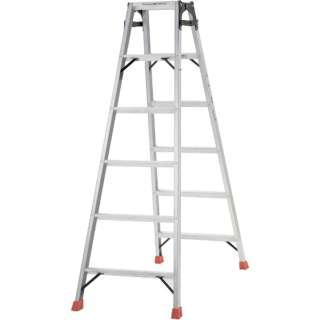 はしご兼用脚立 アルミ合金製脚カバー付 高さ1.69m TPRK180