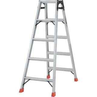 はしご兼用脚立 アルミ合金製脚カバー付 高さ1.40m TPRK150