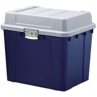 IRIS 多目的屋外収納 密閉バックルストッカー548×470×498 青 KB-540-B