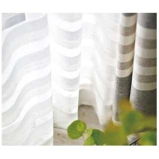 レースカーテン クーシュ(100×198cm/ナチュラルホワイト)【日本製】