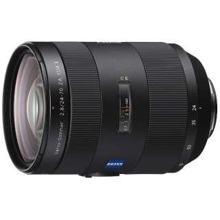 カメラレンズ T* 24-70mm F2.8 ZA SSM II Vario-Sonnar ブラック SAL2470Z2 [ソニーA(α) /ズームレンズ]