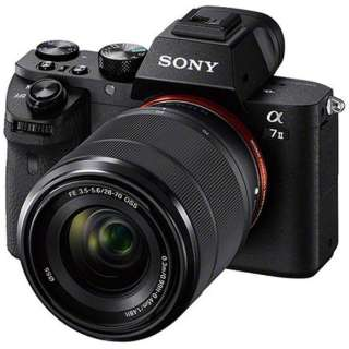 【店舗のみ販売】≪海外仕様(PAL/NTSC)≫ILCE-7M2K BQ JE3 ミラーレス一眼カメラ α7II [ズームレンズ]