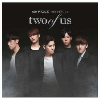 F.CUZ/two of us 通常A盤 【CD】