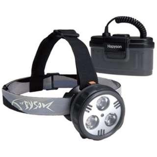 YF-210B 高輝度2WAY LEDヘッドランプ [LED /単1乾電池×4 /防水]