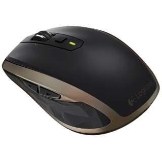 MX1500 マウス MX Anywhere 2 ブラック  [レーザー /7ボタン /Bluetooth・USB /無線(ワイヤレス)]