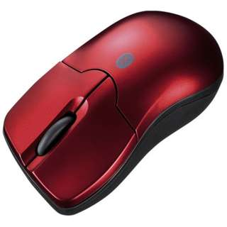 MA-BTBL27R タブレット対応 マウス レッド  [BlueLED /3ボタン /Bluetooth /無線(ワイヤレス)]