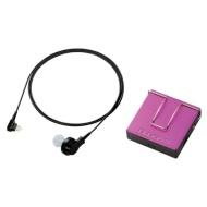 【アナログ補聴器】やさしい補聴器 EHA-PA01 PN(ポケット型/ピンク)