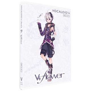 〔Win・Mac版〕 VOCALOID4 Library「v4 flower」単体版
