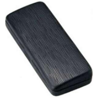 メタルハード メガネケース(ブラック)2469-01