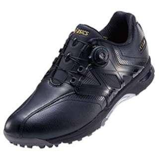 ゴルフシューズ GEL-TUSK Boa(24.5cm/ブラック×ブラック/3E)TGN911_9090