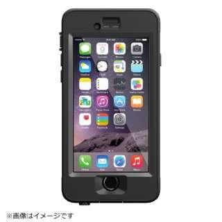 iPhone 6用 nuud case ブラック LIFEPROOF