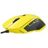 V20YE ゲーミングマウス Rapoo V20シリーズ イエロー  [光学式 /6ボタン /USB /有線]