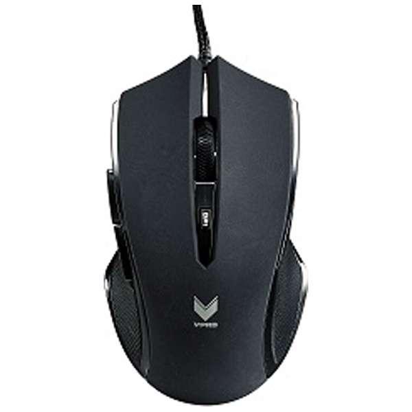 V20BL ゲーミングマウス Rapoo V20シリーズ ブラック  [光学式 /6ボタン /USB /有線]