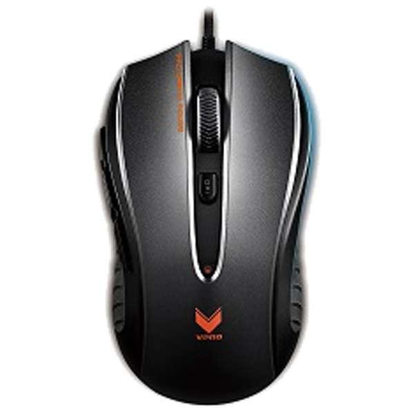 V300BL ゲーミングマウス Rapoo V300 ブラック  [光学式 /8ボタン /USB /有線]