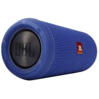 JBLFLIP3BLUE ブルートゥース スピーカー ブルー [Bluetooth対応 /防水]