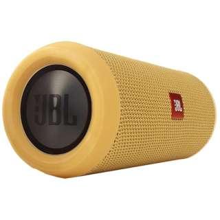 JBLFLIP3YEL ブルートゥース スピーカー イエロー [Bluetooth対応 /防水]
