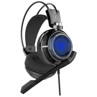 EASARS VORTEX ゲーミングヘッドセット VORTEX ブラック [USB /両耳 /ヘッドバンドタイプ]