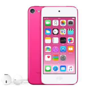 iPod touch 【第6世代 2015年モデル】 16GB ピンク MKGX2J/A