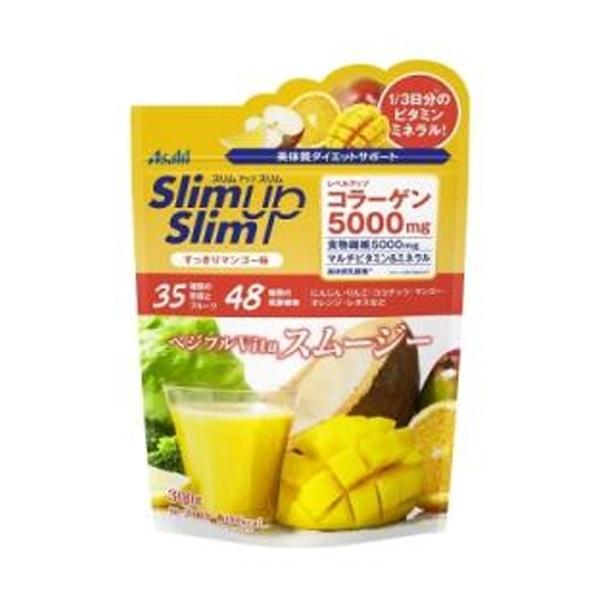 Slimup Slim(スリムアップスリム) ベジフルVitaスムージー すっきりマンゴー味 300g 〔美容・ダイエット〕