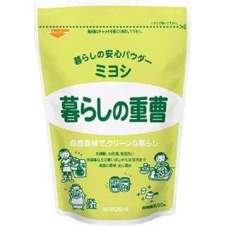 暮らしの重曹本体 (600g)〔キッチン用洗剤〕