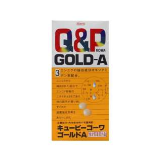 Q&P KOWA(キューピーコーワ) ゴールドA(180錠)【医薬部外品】〔ビタミン剤〕