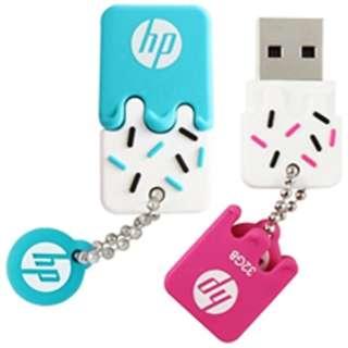 HPFD178B-16 USBメモリ [16GB /USB2.0 /USB TypeA /キャップ式]