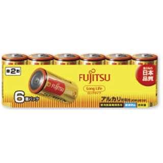 LR14FL-6S 単2電池 LongLife(ロングライフ) [6本 /アルカリ]