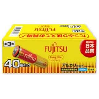 LR6FL-40S 単3電池 LongLife(ロングライフ) [40本 /アルカリ]