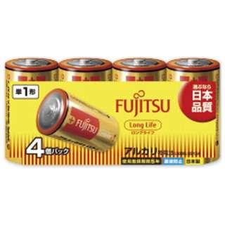 LR20FL-4S 単1電池 LongLife(ロングライフ) [4本 /アルカリ]