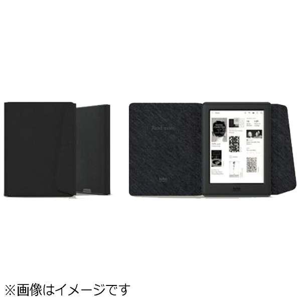 ビックカメラ com - Kobo Glo HD用 専用カバー ブラック N437-AC-BK-E-PU
