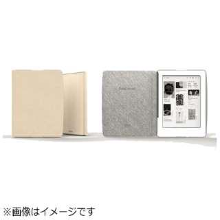 Kobo Glo HD用 専用カバー クリーム N437-AC-BK-E-PU