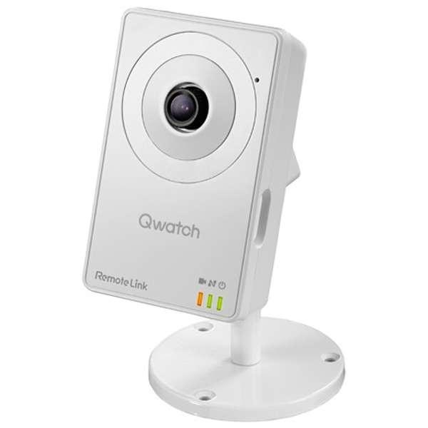 TS-WRLC ネットワークカメラ Qwatch(クウォッチ) ホワイト [有線・無線]