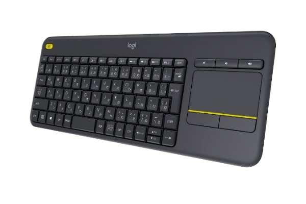 ワイヤレスキーボードのおすすめ ロジクール K400pBK