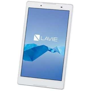 PC-TE508BAW Androidタブレット LAVIE Tab E ホワイト [8型ワイド /ストレージ:16GB /Wi-Fiモデル]