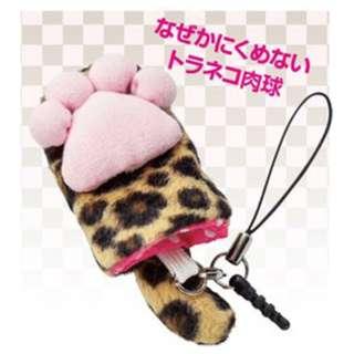 肉球携帯クリーナー(トラ)3166-04
