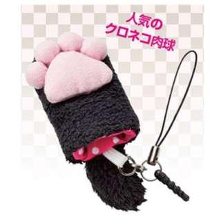 肉球携帯クリーナー(クロ)3166-02
