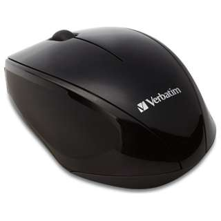 MUSWBLZV1 マウス ブラック  [BlueLED /3ボタン /USB /無線(ワイヤレス)]