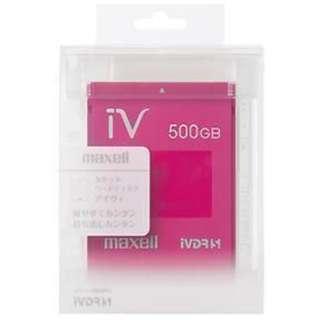 M-VDRS500G.E.MG iV-DR(アイヴィ) カラーシリーズ マゼンタ [500GB /1個]