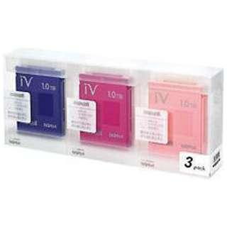 M-VDRS1T.E.MX3P iV-DR(アイヴィ) カラーシリーズ カラーミックス [1TB /3個]