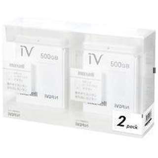 M-VDRS500G.E.WH2P iV-DR(アイヴィ) カラーシリーズ ホワイト [500GB /2個]