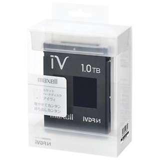 M-VDRS1T.E.BK iV-DR(アイヴィ) カラーシリーズ ブラック [1TB /1個]