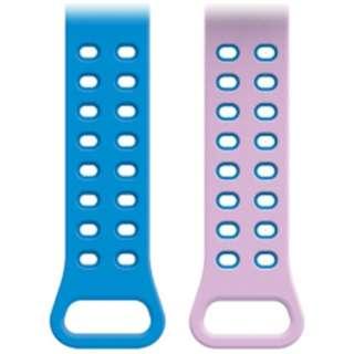 【ドコモ純正】 ドコッチ 01用 交換用ベルト <ブルー/ピンク>(01ドコッチベルト)