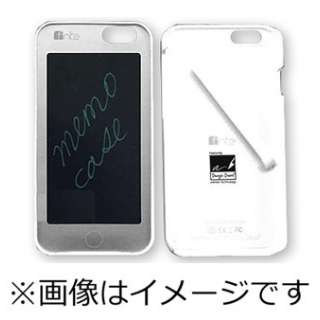 iPhone 6用 memo case 電子メモパッド搭載 ホワイト FNMECA1647WE