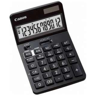 ビジネス電卓 新・ビジネス向け電卓 ブラック KS-1220TU-BK SOB [12桁]