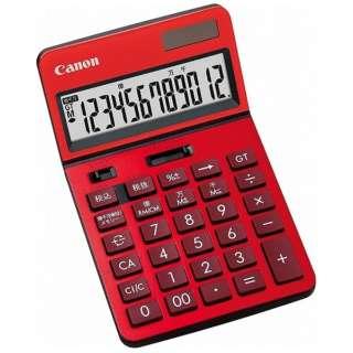 ビジネス電卓 新・ビジネス向け電卓 レッド KS-1220TU-RD SOB [12桁]