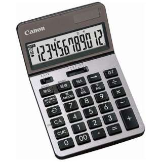 ビジネス電卓 新・ビジネス向け電卓 シルバー KS-1220TU-SL SOB [12桁]
