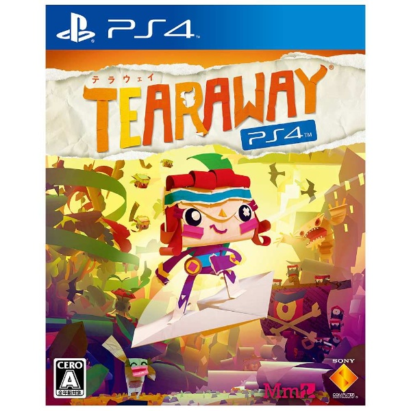 Tearaway PlayStation 4【PS4ゲームソフト】