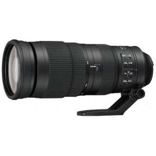 カメラレンズ AF-S NIKKOR 200-500mm f/5.6E ED VR NIKKOR(ニッコール) ブラック [ニコンF /ズームレンズ]