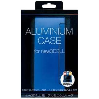 Newニンテンドー3DS LL用 アルミニウムケース ブルー【New3DS LL】